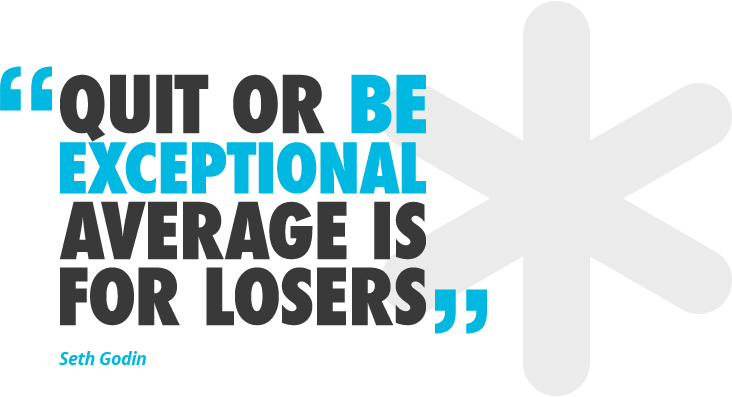 Be Exceptional - Seth Godin