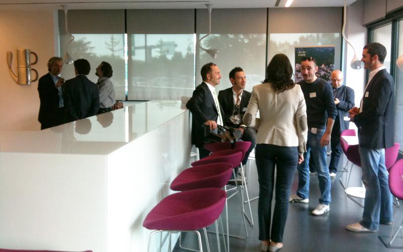 Sala d'attesa presso Cisco Italia