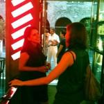 Pilar Verduga e Sara Rocutto alla TwitpizzaTV