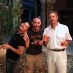 Stefano Quadraro, Mattia Lissi e Leonardo Milan alla TwitpizzaTV