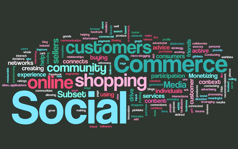 Tag Cloud sul Social Commerce